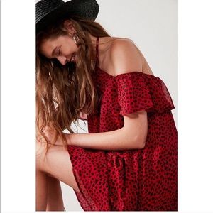 Urban Outfitters Rare London Cold Shoulder Dress